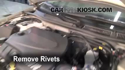 2008 Chevrolet Impala LT 3.5L V6 FlexFuel Filtre à air (intérieur)