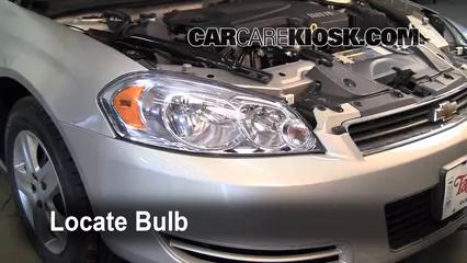 2008 Chevrolet Impala LT 3.5L V6 FlexFuel Lights Parking Light (replace bulb)