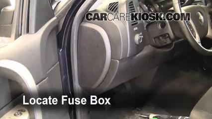 2008 Chevrolet Silverado 1500 LT 5.3L V8 Extended Cab Pickup (4 Door) Fuse (Interior)