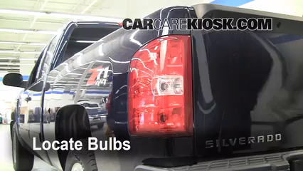 2008 Chevrolet Silverado 1500 LT 5.3L V8 Extended Cab Pickup (4 Door) Lights Brake Light (replace bulb)