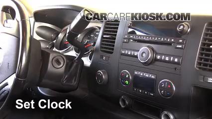 2008 Chevrolet Silverado 2500 HD LT 6.0L V8 Crew Cab Pickup (4 Door) Clock