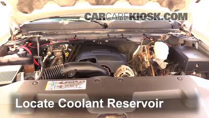2008 Chevrolet Silverado 2500 HD LT 6.0L V8 Crew Cab Pickup (4 Door) Coolant (Antifreeze)