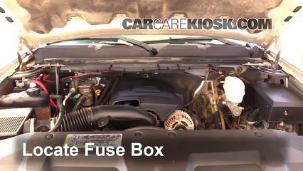 2008 Chevrolet Silverado 2500 HD LT 6.0L V8 Crew Cab Pickup (4 Door) Fuse (Engine)