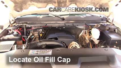 2008 Chevrolet Silverado 2500 HD LT 6.0L V8 Crew Cab Pickup (4 Door) Oil