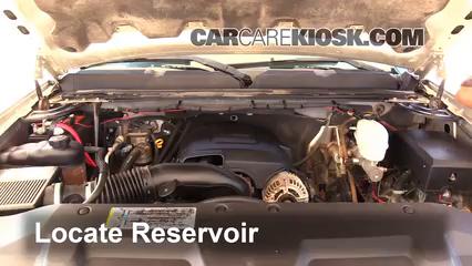 2008 Chevrolet Silverado 2500 HD LT 6.0L V8 Crew Cab Pickup (4 Door) Windshield Washer Fluid