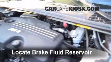 2008 Chevrolet Uplander LS 3.9L V6 Brake Fluid