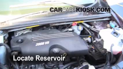 2008 Chevrolet Uplander LS 3.9L V6 Windshield Washer Fluid