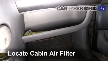 2008 Citroen C1 Advance 1.0L 3 Cyl. Air Filter (Cabin)