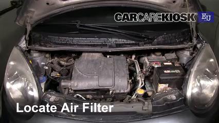 2008 Citroen C1 Advance 1.0L 3 Cyl. Air Filter (Engine)