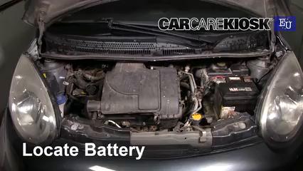 2008 Citroen C1 Advance 1.0L 3 Cyl. Battery