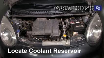 2008 Citroen C1 Advance 1.0L 3 Cyl. Coolant (Antifreeze)