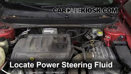 2008 Dodge Avenger SXT 2.4L 4 Cyl. Pérdidas de líquido Líquido de dirección asistida (arreglar pérdidas)