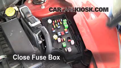 Replace a Fuse: 2007-2012 Dodge Caliber - 2008 Dodge Caliber SE 2.0L 4 Cyl.CarCareKiosk