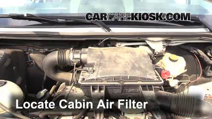 2008 Dodge Sprinter 2500 3.0L V6 Turbo Diesel Standard Passenger Van Filtre à air (intérieur)