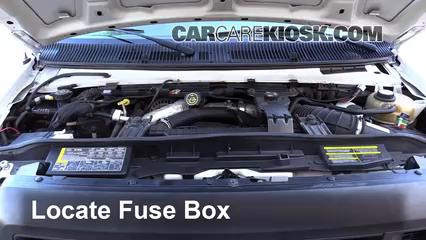 2008 Ford E-350 Super Duty 6.0L V8 Turbo Diesel Extended Cargo Van (3 Door) Fusible (motor)