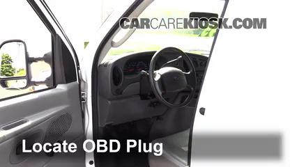 2008 Ford E-350 Super Duty 6.0L V8 Turbo Diesel Extended Cargo Van (3 Door) Compruebe la luz del motor