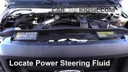 2008 Ford E-350 Super Duty 6.0L V8 Turbo Diesel Extended Cargo Van (3 Door) Líquido de dirección asistida