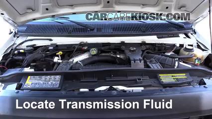 2008 Ford E-350 Super Duty 6.0L V8 Turbo Diesel Extended Cargo Van (3 Door) Líquido de transmisión Sellar pérdidas