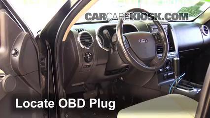 2008 Ford Explorer Sport Trac XLT 4.0L V6 Compruebe la luz del motor