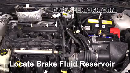 2008 Ford Focus SE 2.0L 4 Cyl. Coupe (2 Door) Brake Fluid