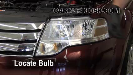2008 Ford Taurus X Limited 3.5L V6 Luces Faro delantero (reemplazar foco)