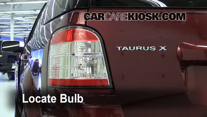 2008 Ford Taurus X Limited 3.5L V6 Éclairage