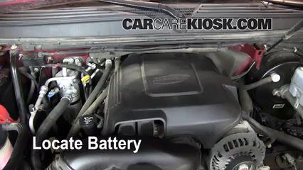 2008 GMC Yukon Denali 6.2L V8 Battery Clean Battery & Terminals