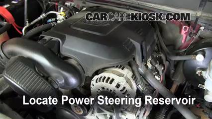 2008 GMC Yukon Denali 6.2L V8 Power Steering Fluid Fix Leaks