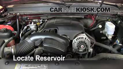 2008 GMC Yukon Denali 6.2L V8 Windshield Washer Fluid Add Fluid