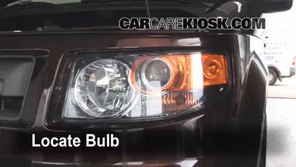 2008 Honda Element SC 2.4L 4 Cyl. Éclairage Feux de route (remplacer l'ampoule)