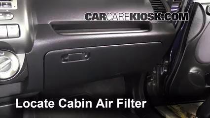 2008 Honda Fit 1.5L 4 Cyl. Filtro de aire (interior)