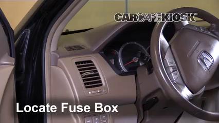 2008 Honda Pilot EX-L 3.5L V6 Fusible (interior)