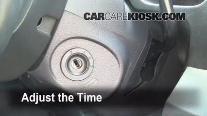 2008 Honda Ridgeline RTL 3.5L V6 Horloge Régler l'horloge