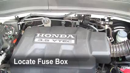 2008 Honda Ridgeline RTL 3.5L V6 Fusible (motor) Control