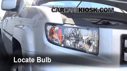 2008 Honda Ridgeline RTL 3.5L V6 Luces Luz de estacionamiento (reemplazar foco)