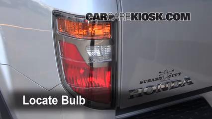 2008 Honda Ridgeline RTL 3.5L V6 Luces Luz de giro trasera (reemplazar foco)