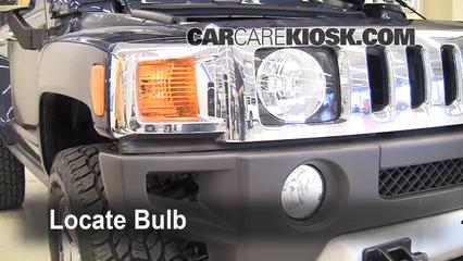 2008 Hummer H3 3.7L 5 Cyl. Luces Luz de estacionamiento (reemplazar foco)
