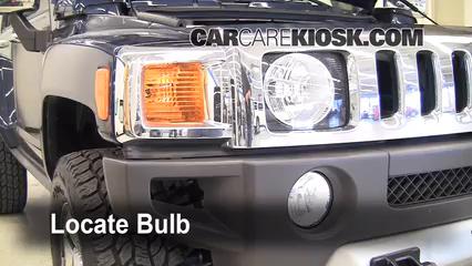 2008 Hummer H3 3.7L 5 Cyl. Luces Luz de marcha diurna (reemplazar foco)