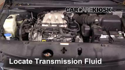 2008 Hyundai Entourage GLS 3.8L V6 Transmission Fluid