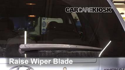 2008 Hyundai Entourage GLS 3.8L V6 Windshield Wiper Blade (Rear)