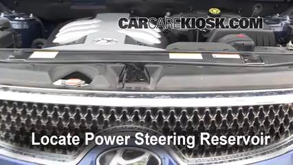 2008 Hyundai Veracruz GLS 3.8L V6 Power Steering Fluid