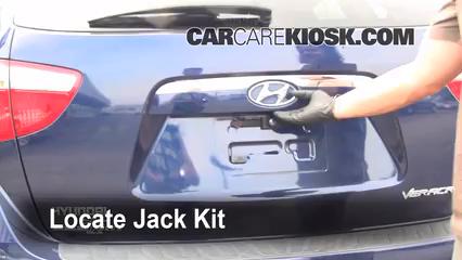 2008 Hyundai Veracruz GLS 3.8L V6 Jack Up Car