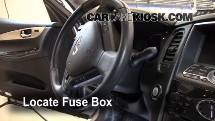 2008 Infiniti EX35 Journey 3.5L V6 Fusible (intérieur)
