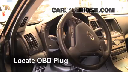 2008 Infiniti G35 3.5L V6 Compruebe la luz del motor