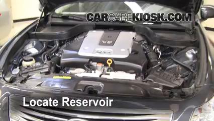 2008 Infiniti G35 3.5L V6 Líquido limpiaparabrisas
