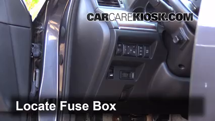 2008 Infiniti M35 X 3.5L V6 Fusible (interior)