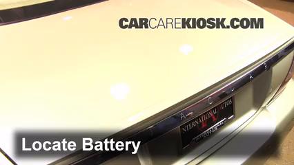 2008 Jaguar XJ8 L 4.2L V8 Battery Replace