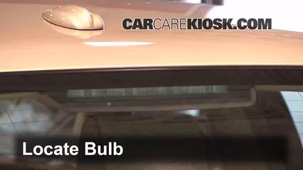 2008 Jaguar XJ8 L 4.2L V8 Lights Center Brake Light (replace bulb)