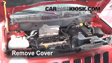 2008 Jeep Compass Sport 2.0L 4 Cyl. Battery Replace