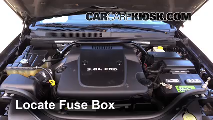 2008 Jeep Grand Cherokee Laredo 3.0L V6 Turbo Diesel Fuse (Engine)